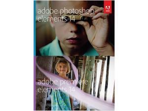 Adobe Photoshop & Premiere Elements 14 for Windows & Mac - Full Version