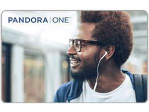 Pandora 6 Month Gift Card (Email Delivery)