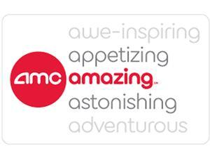 AMC Theatre Gift Card $20 Gift Card (Email Delivery)