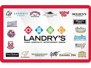Landry's $10 Gift Card (Email Delivery)