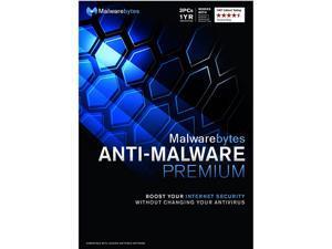 Malwarebytes Anti-Malware Premium - 3 PCs / 1 Year