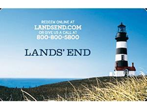Lands' End $100 Gift Card (Email Delivery)
