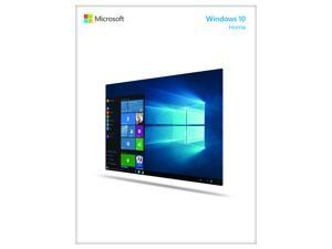 Windows 10 Home - Full Version (32 & 64-bit) / USB Flash Drive