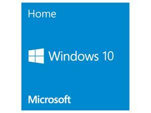 Microsoft Windows Home 10 64-Bit - FrenchCanadian - 1 PK DSP OEI DVD