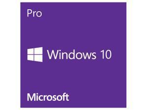 Microsoft Windows Pro 10 - 64-Bit - French Canadian - 1PK DSP OEI DVD