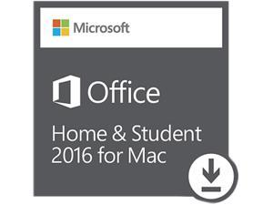 Microsoft Office Mac Home and Student 2016 - Download - 1 Mac