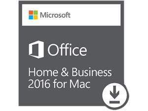 Microsoft Office Mac Home and Business 2016 - Download - 1 Mac