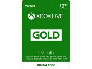 Xbox LIVE 1 Month Gold Membership (Digital Code)
