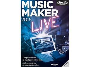 MAGIX Music Maker Live 2016