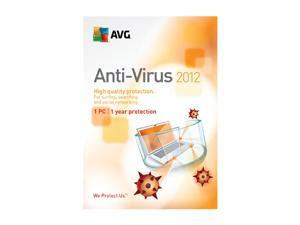 AVG Anti-Virus 2012 - 1 User for System Builder - OEM