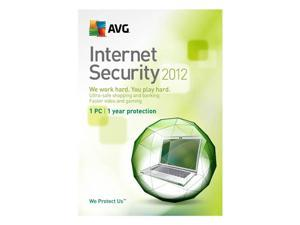AVG Internet Security 2012 - 1 User For System Builder - OEM