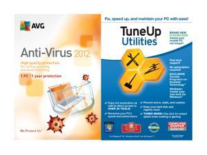 TuneUp Utilities + AVG Anti-Virus 1 User - OEM