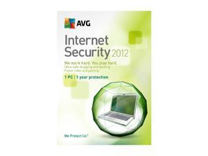 AVG Internet Security 2012 - 1 User Academic Version