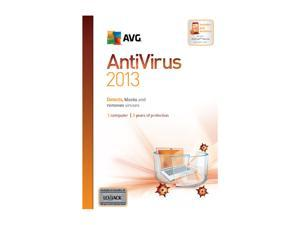 AVG Anti-Virus 2013 - 1 User (2 Year) - Download