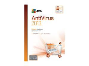 AVG Anti-Virus 2013 3 PCs (2-Year) - Download