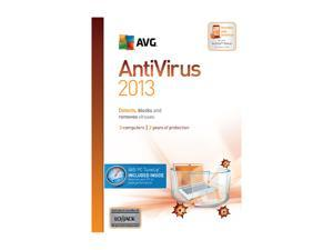 AVG Anti-Virus + PC TuneUp 2013 - 3 User (2 Year) - Download