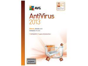 AVG Anti-Virus 2013- 3 PCs (1 Year) - Download
