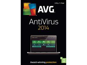 AVG Anti-Virus 2014 - 3 PCs