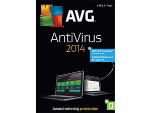 AVG Anti-Virus + PC TuneUp 2014 - 3 PCs
