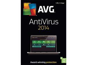 AVG AntiVirus 2014 - 1 PC (1-Year) - Download