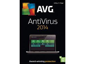 AVG AntiVirus 2014 - 3 PCs (1-Year) - Download