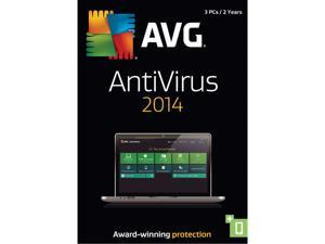 AVG AntiVirus 2014 - 3 PCs (2-Year) - Download