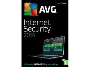 AVG Internet Security 2014 - 3 PCs (1-Year) - Download