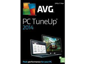 AVG PC TuneUp 2014 - 3 PCs - Download
