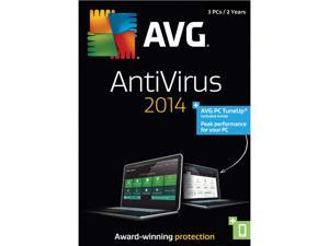 AVG AntiVirus + PC TuneUp 2014 - 3 PCs 2-Year - Download