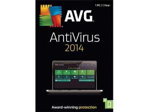 AVG Anti-Virus 2014 - 1 PC - Product Key Card