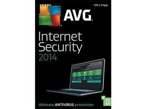 AVG Internet Security 2014 - 1 PC - Product Key Card