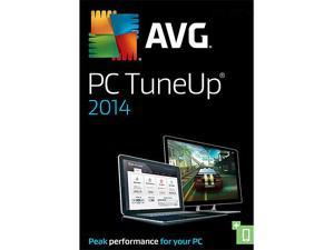 AVG PC TuneUp 2014 - 1 PC - Product Key Card - OEM