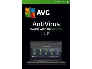 AVG AntiVirus 2015 - 1 PC / 1 Year