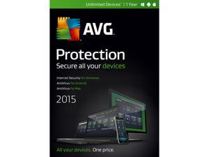 AVG Protection 2015 Unlimited Devices / 1 Year - Download