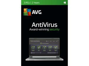 AVG AntiVirus 2016 -  3 PCs / 2 Years