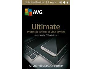 AVG Ultimate 2016 - Unlimited Devices / 2 Years