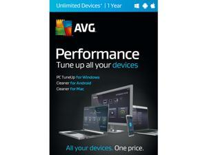 AVG Performance 2016 Unlimited Devices 1 Years - Download