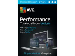 AVG Performance 2016 Unlimited Devices 2 Years - Download