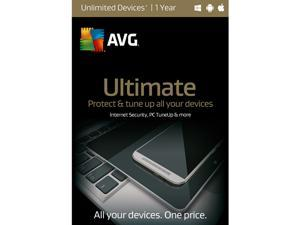 AVG Ultimate 2016 Unlimited Devices 1 Years - Download