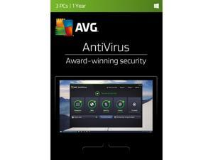 AVG AntiVirus 2017 - 3 PCs / 1 Year