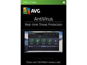 AVG AntiVirus 3 PCs - 2 Years