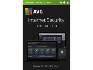 AVG Internet Security 2017 Unlimited - 1 Year