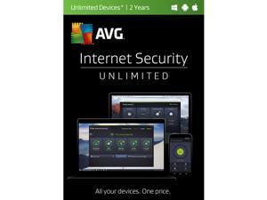 AVG Internet Security 2017 Unlimited - 2 Years