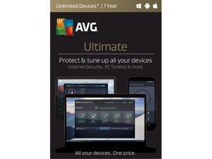 AVG Ultimate Unlimited - 1 Year