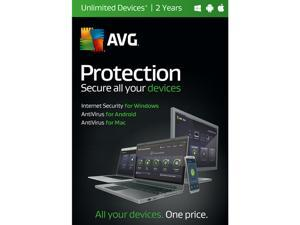 AVG Protection 2017 Unlimited Devices for 2 Year