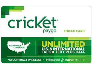 Cricket PayGo $50 Card (Email Delivery)