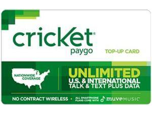 Cricket PayGo $60 Card (Email Delivery)