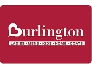 Burlington Coat Factory $100 Gift Card (Email Delivery)