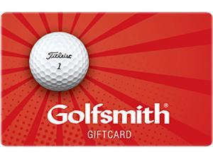 Golfsmith $50 Gift Cards (Email Delivery)