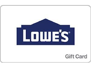 $220 Lowes Gift Card